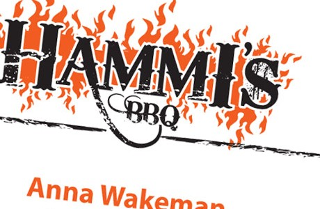 Hammi's BBQ Business Cards/Letterhead